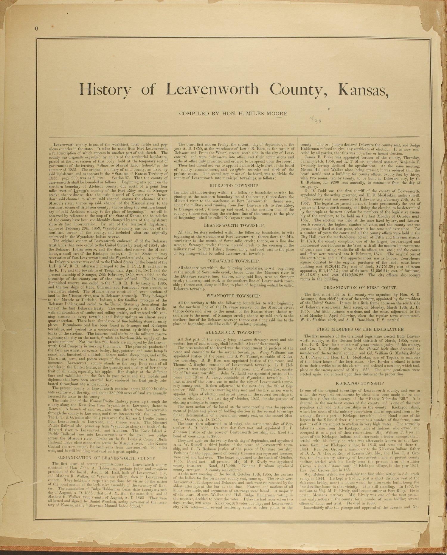 Atlas map of Leavenworth County, Kansas - 6