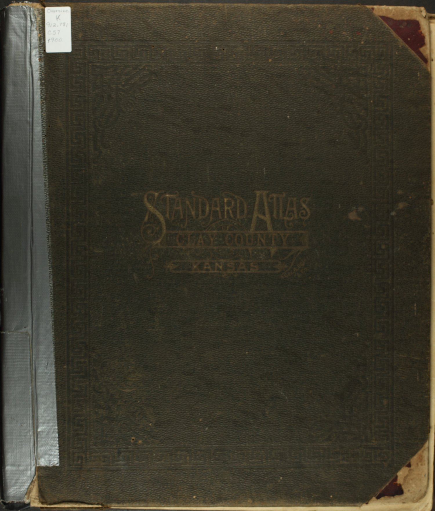 Standard atlas of Clay County, Kansas - Front Cover