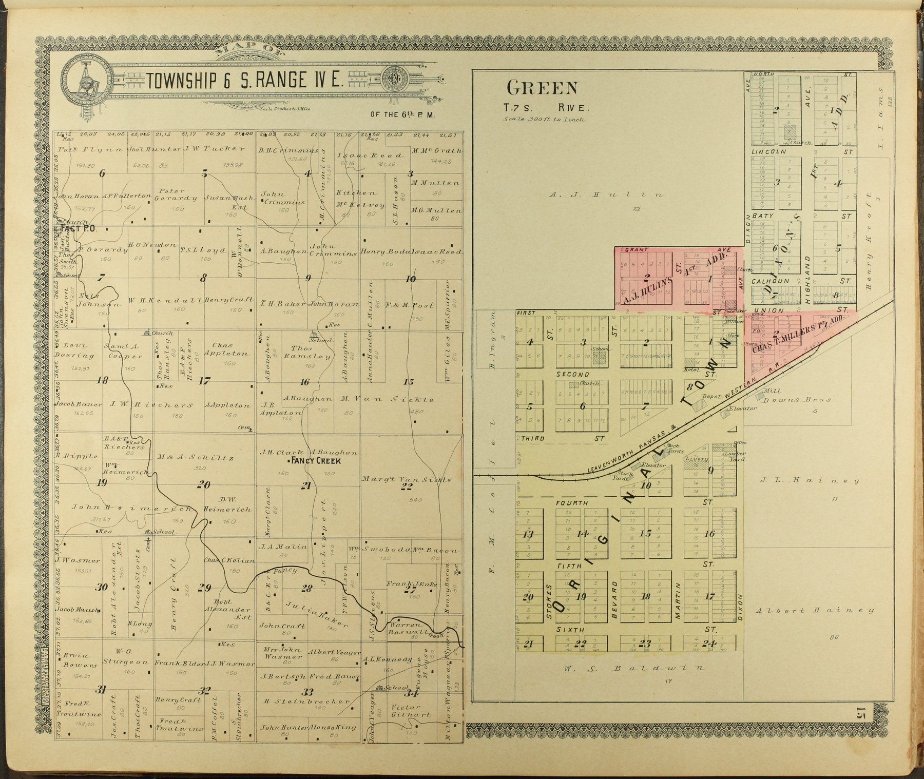 Standard atlas of Clay County, Kansas - 15