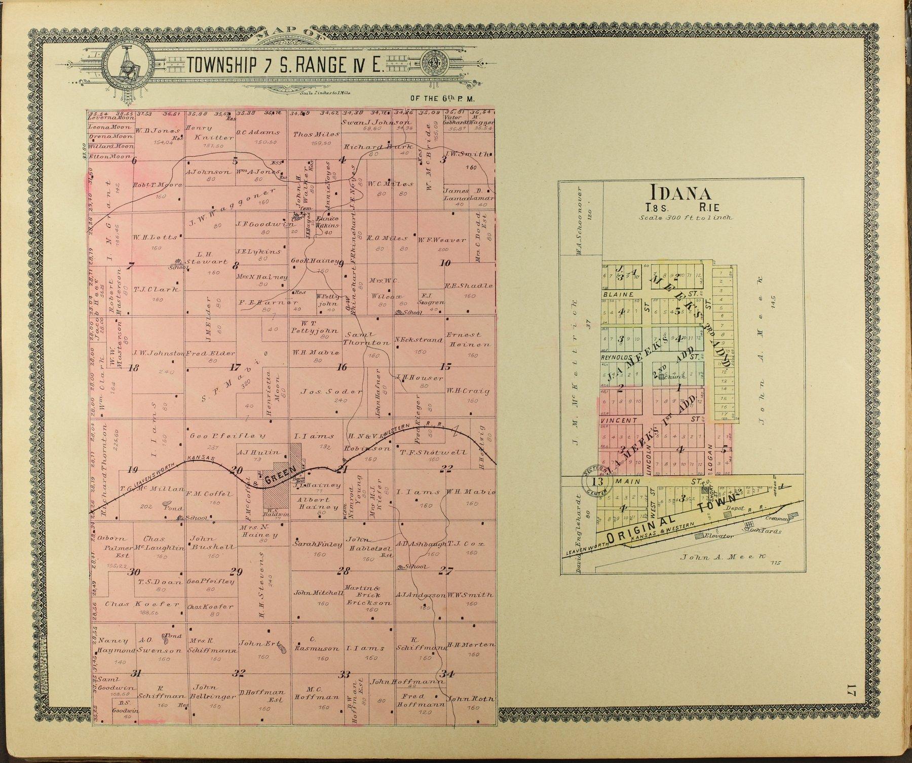 Standard atlas of Clay County, Kansas - 17