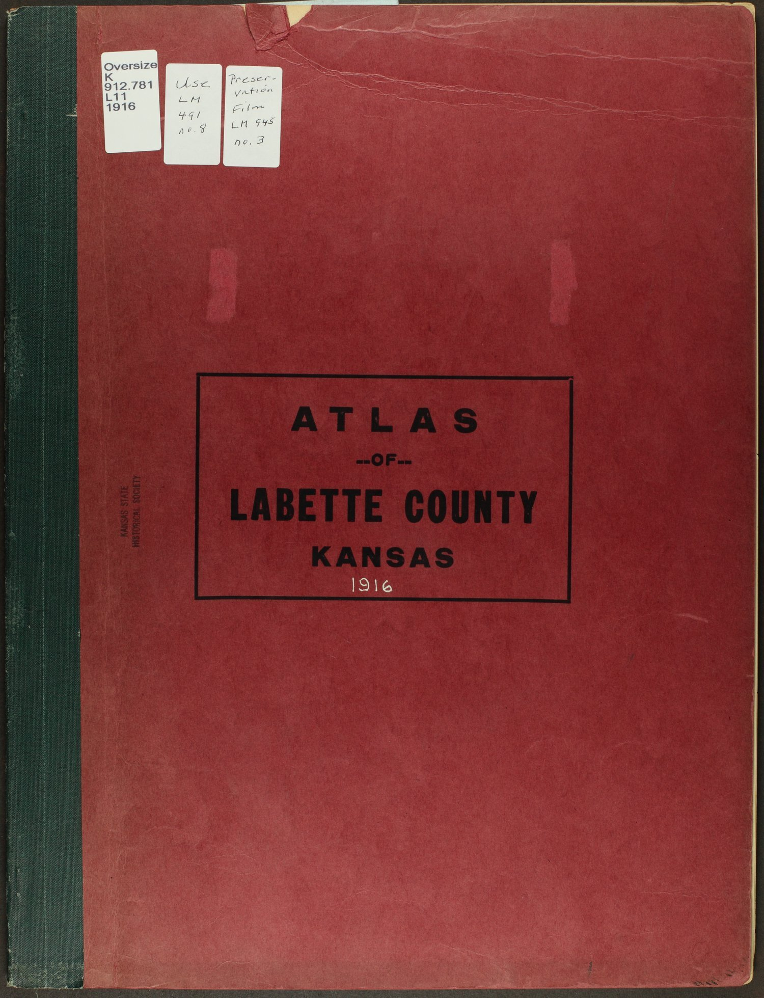 Atlas and plat book of Labette County, Kansas - Front Cover