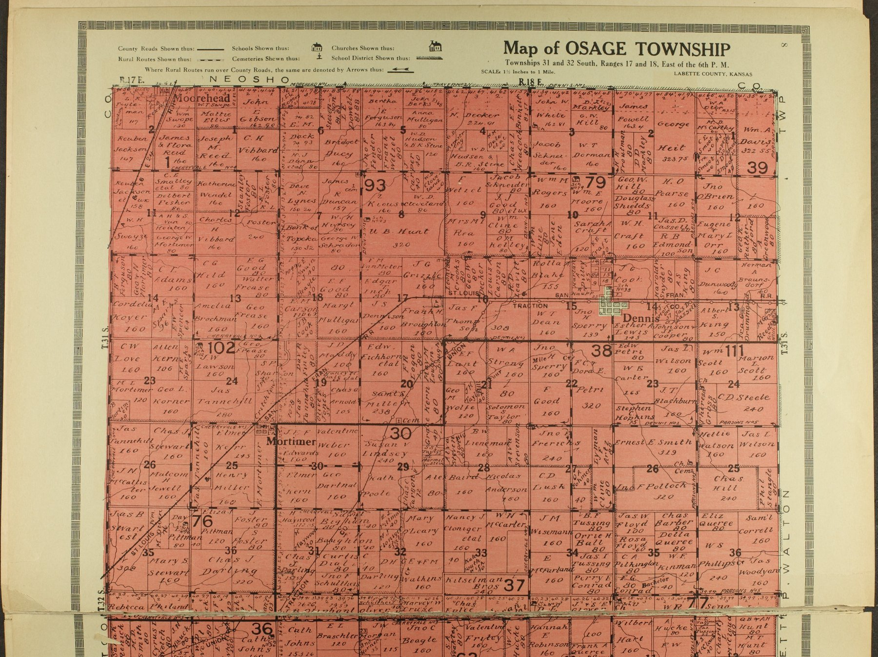 Atlas and plat book of Labette County, Kansas - 8
