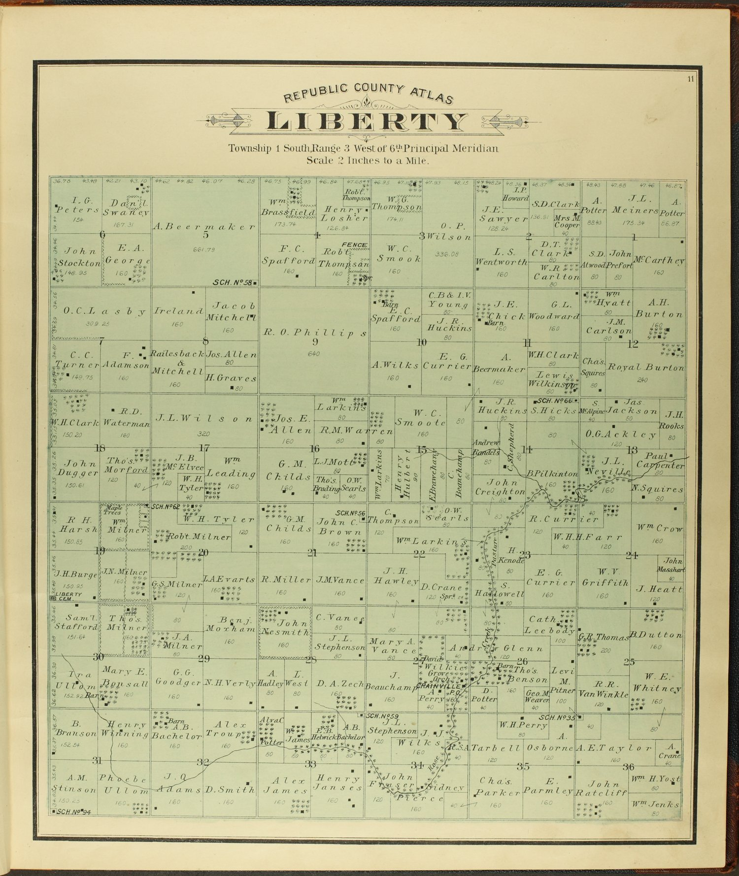 Atlas of Republic County, Kansas - 11