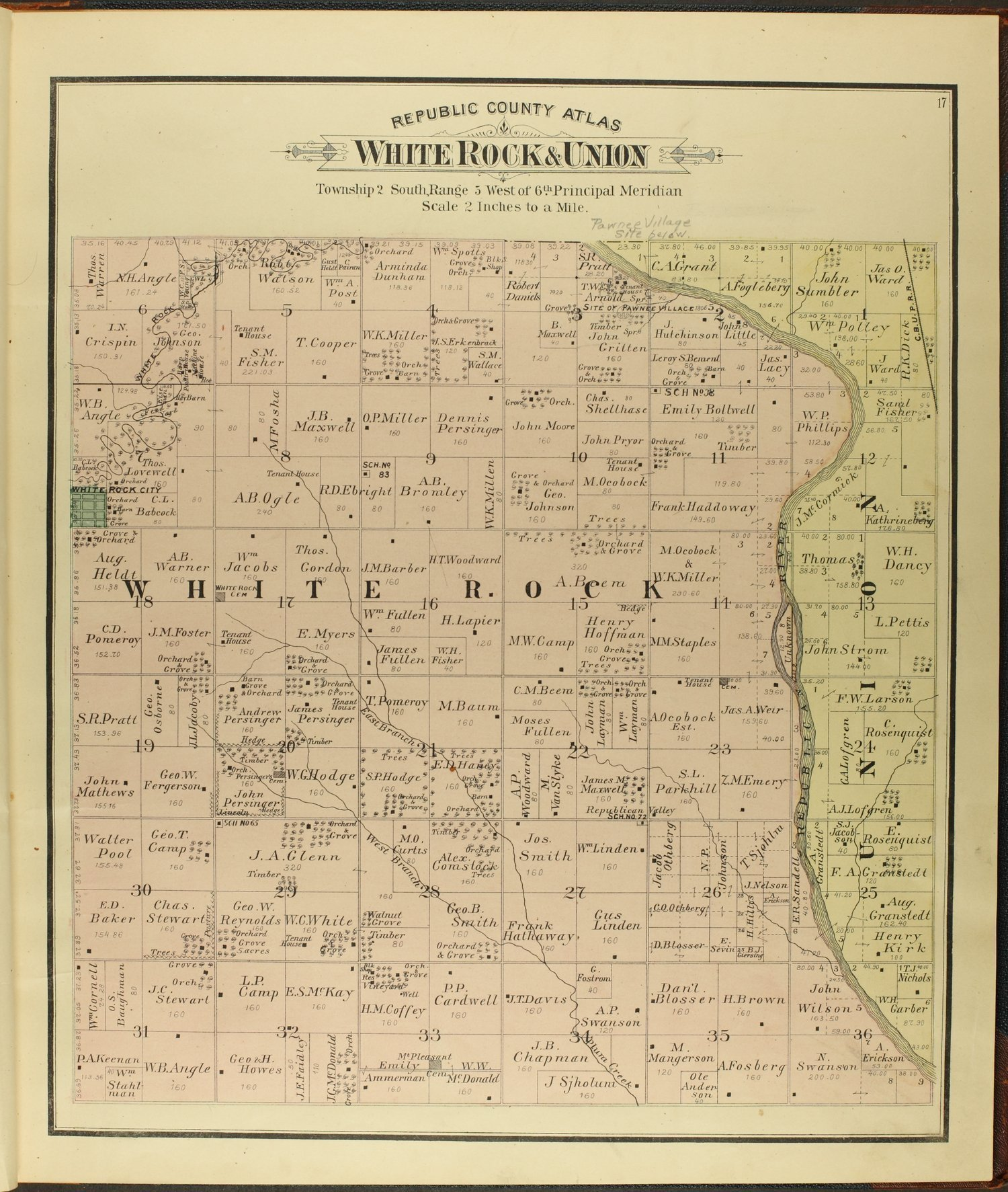 Atlas of Republic County, Kansas - 17