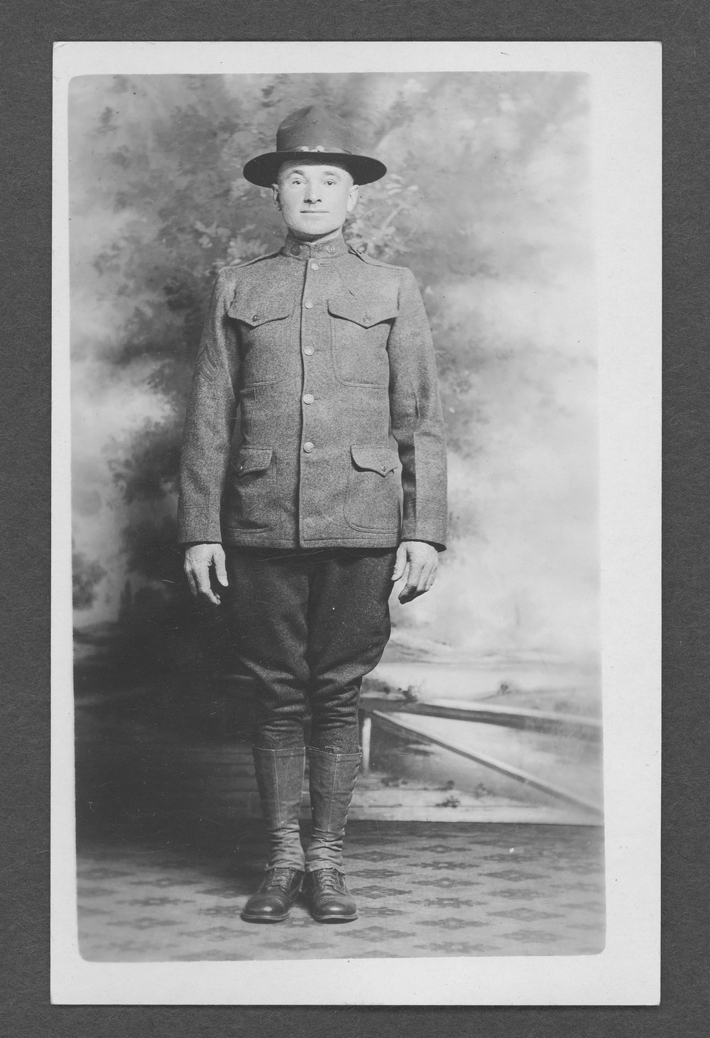 George E. Beggs, World War I soldier - 1