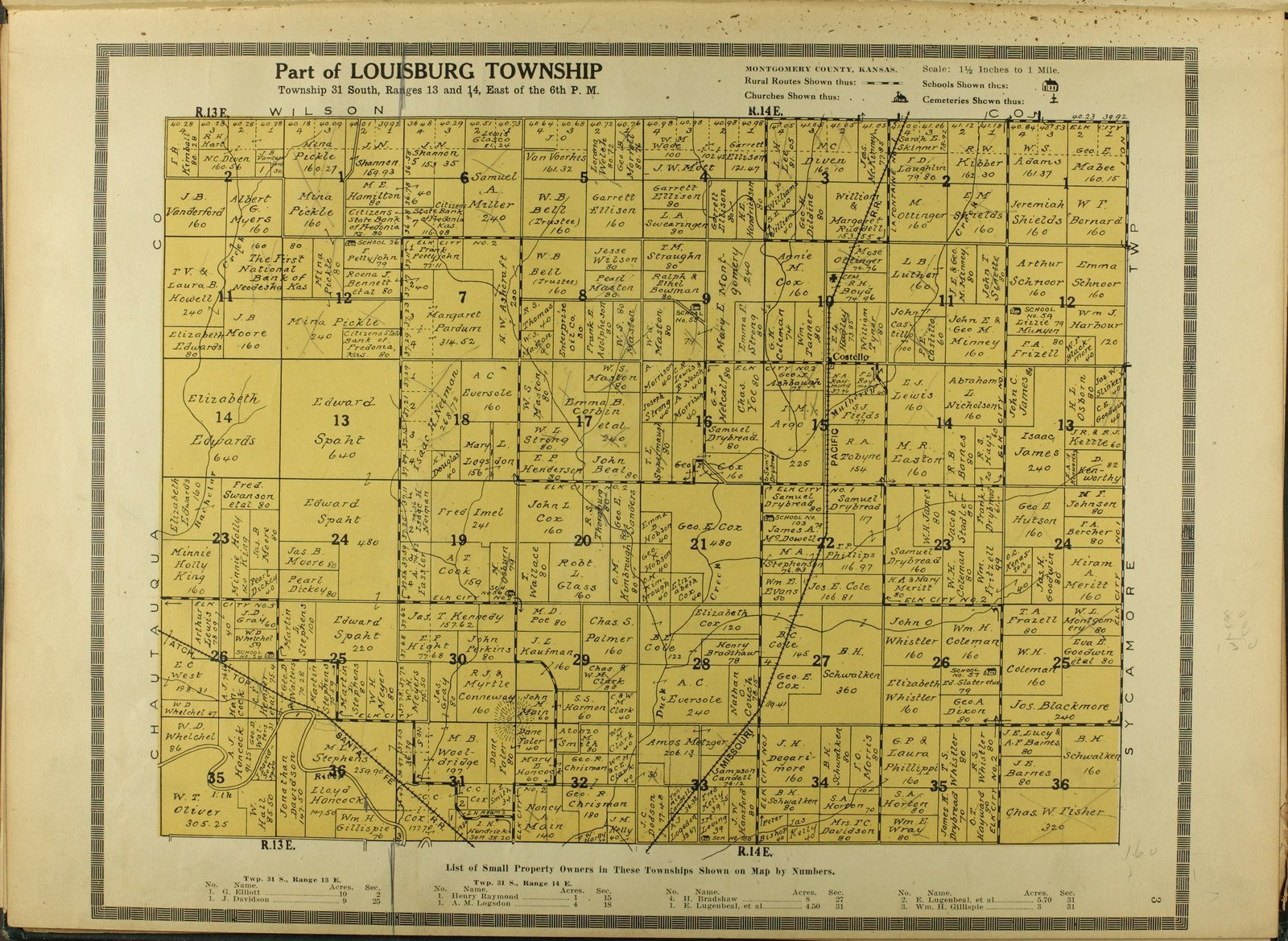 Atlas and plat book of Montgomery County, Kansas - 3