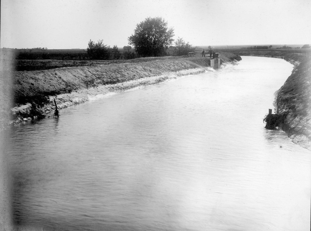 Great Eastern canal in Finney County, Kansas