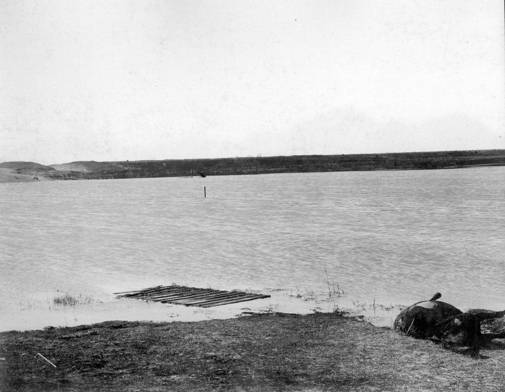 The upper end of reservoir No. 5 in Finney County, Kansas