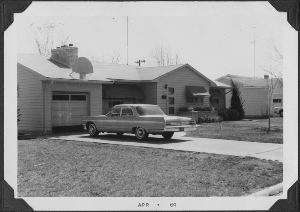 Dr. John and Marion Reynold's house in Topeka, Kansas - 1