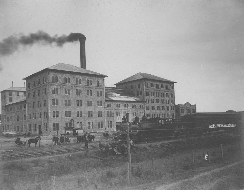 $1,000,000 beet sugar factory in Garden City, Kansas