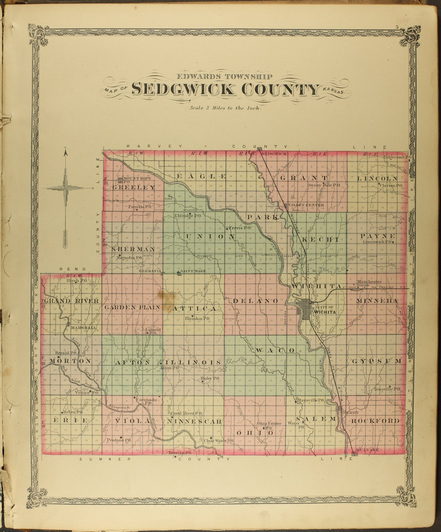 Historical Atlas of Sedgwick County, Kansas - 5