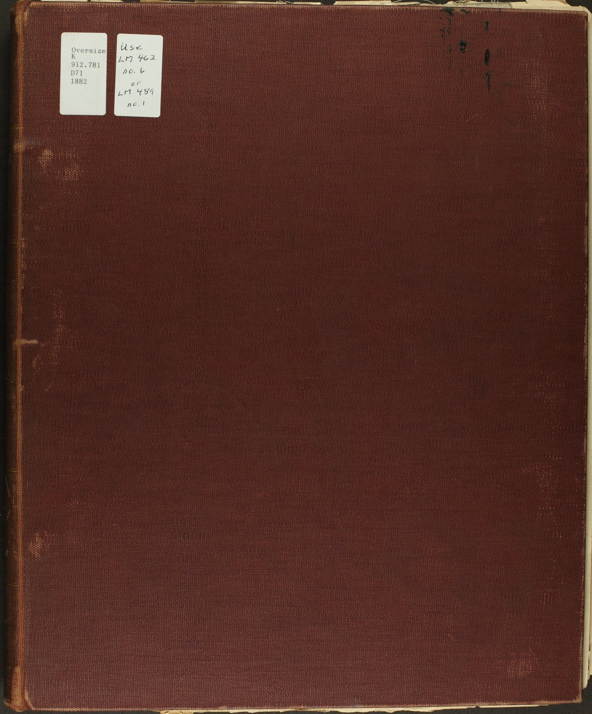 Historical plat book of Doniphan County, Kansas - Front Cover