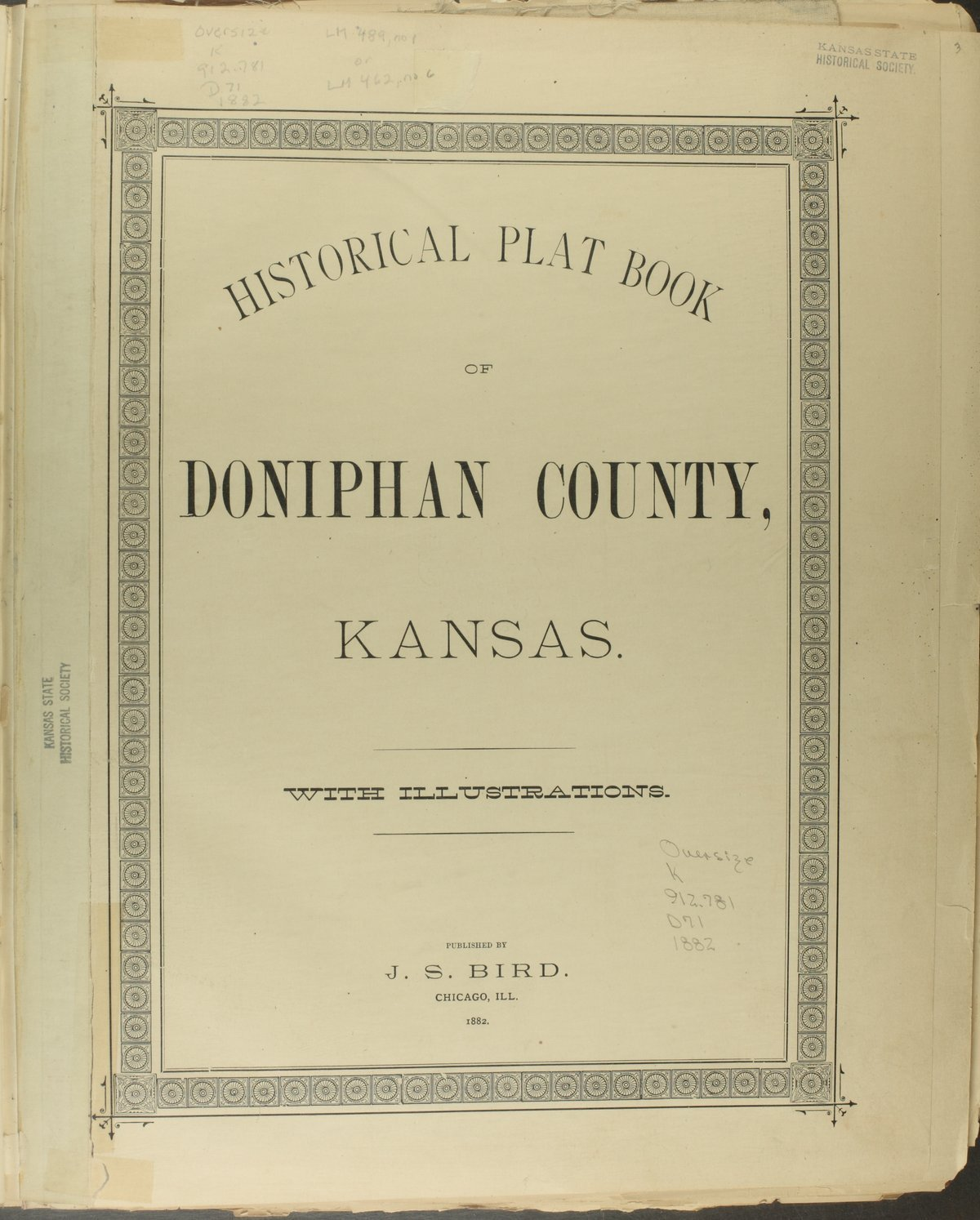 Historical plat book of Doniphan County, Kansas - Title Page
