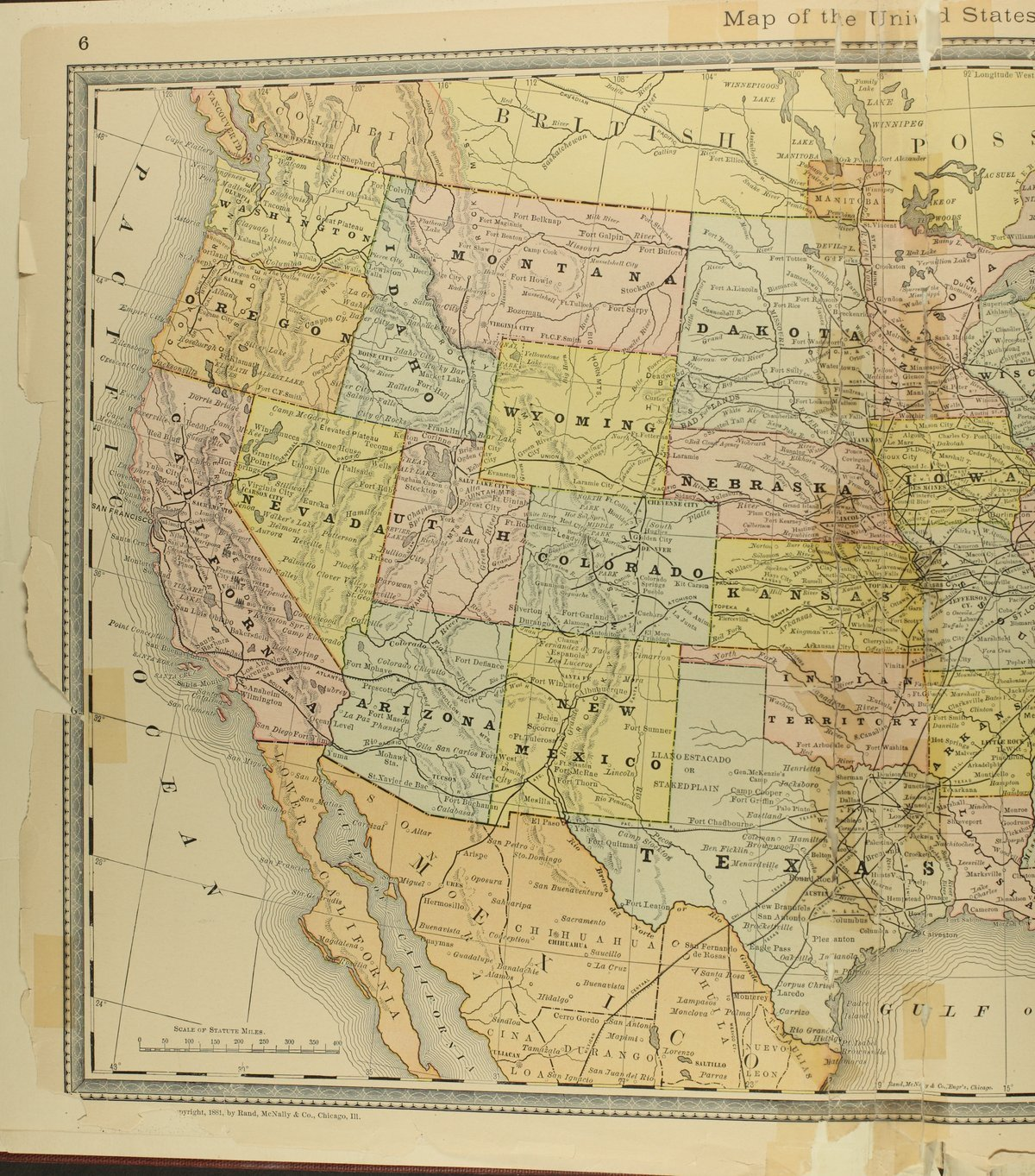 Historical plat book of Doniphan County, Kansas - Map of the United States