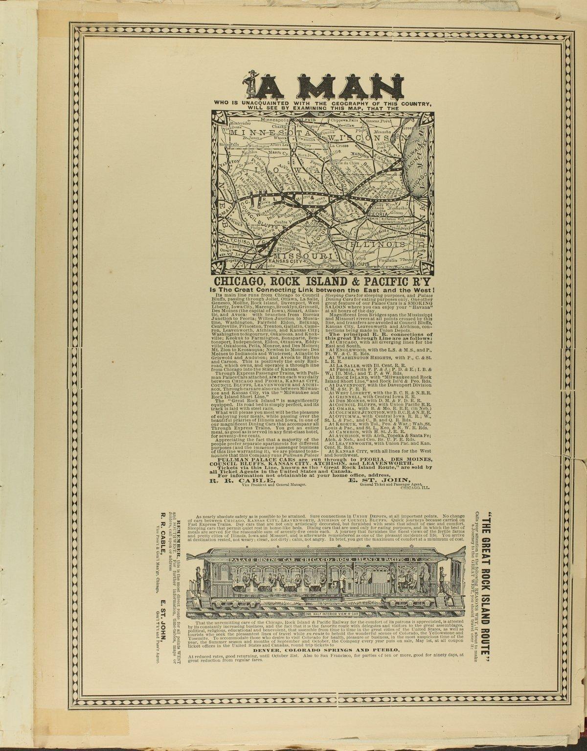 Historical plat book of Doniphan County, Kansas - advertisement