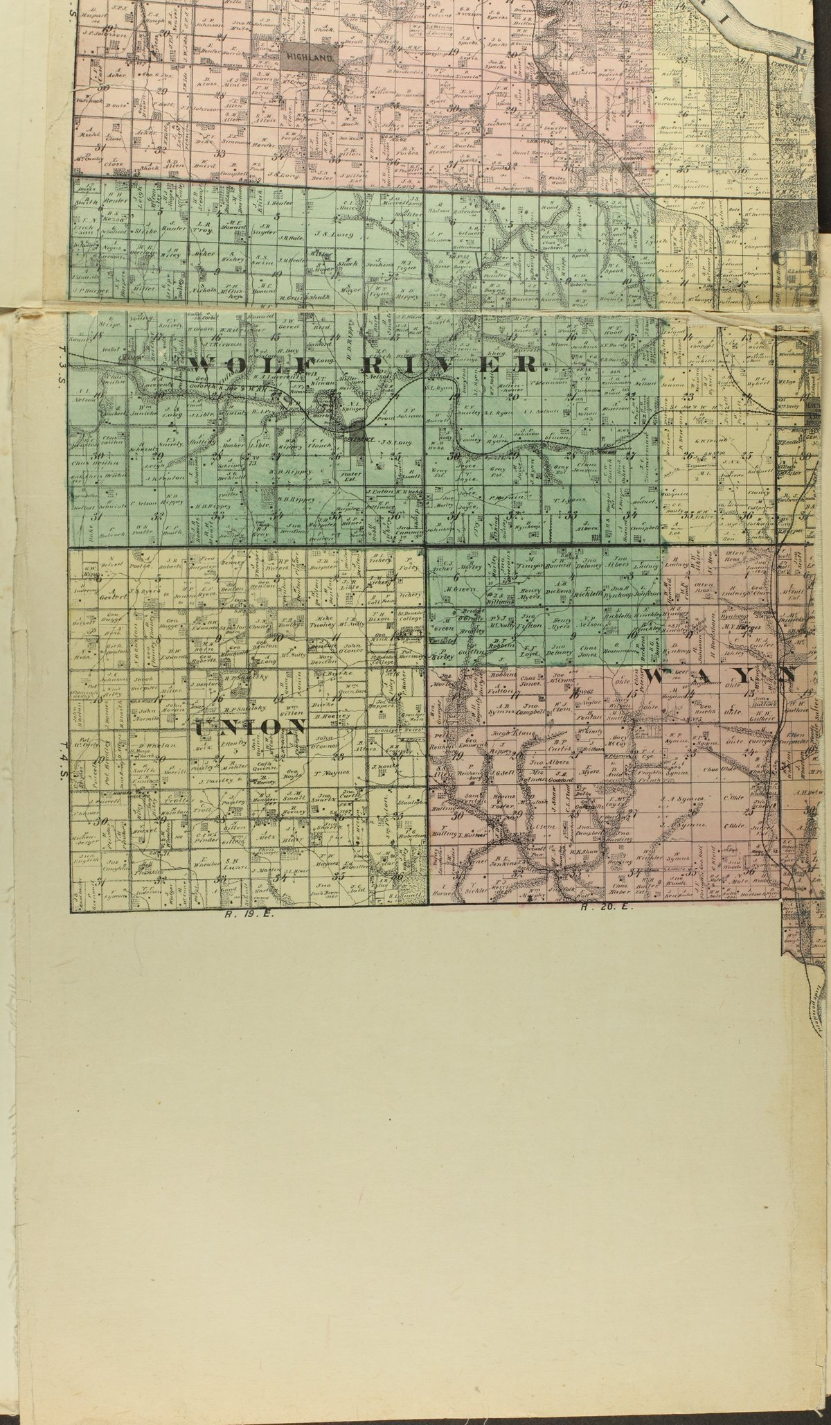 Historical plat book of Doniphan County, Kansas - Map of Doniphan Co (b)