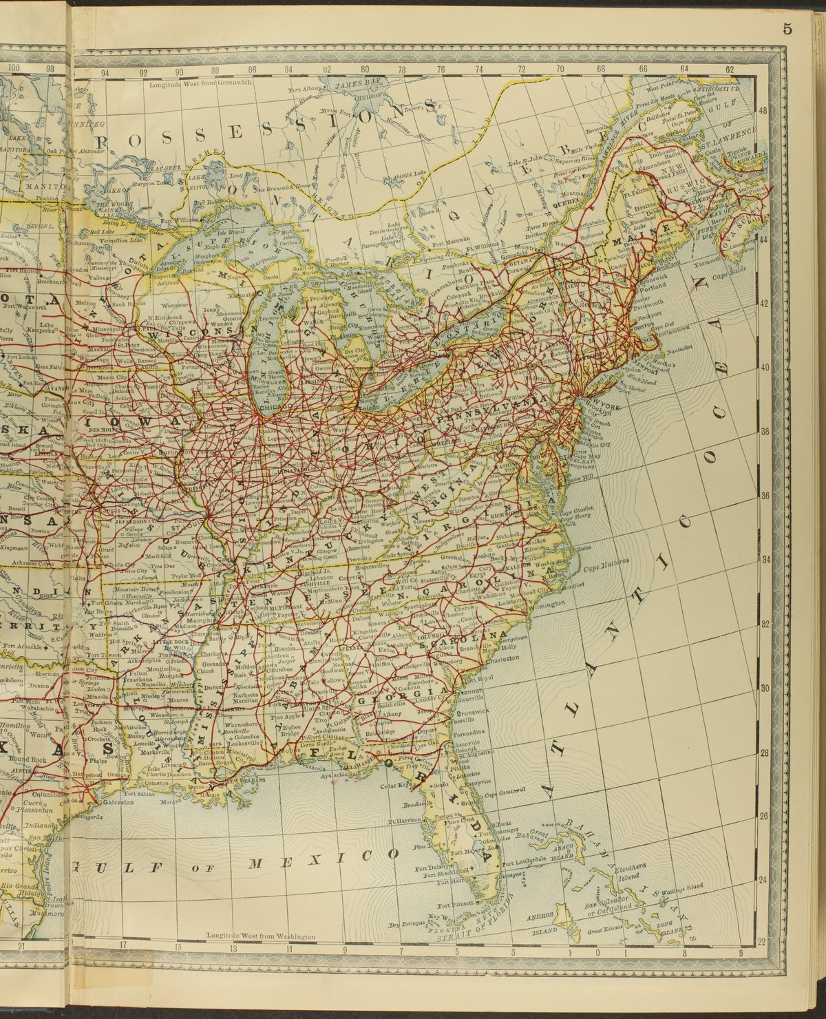 Historical plat book of Riley County, Kansas - Map of the United States