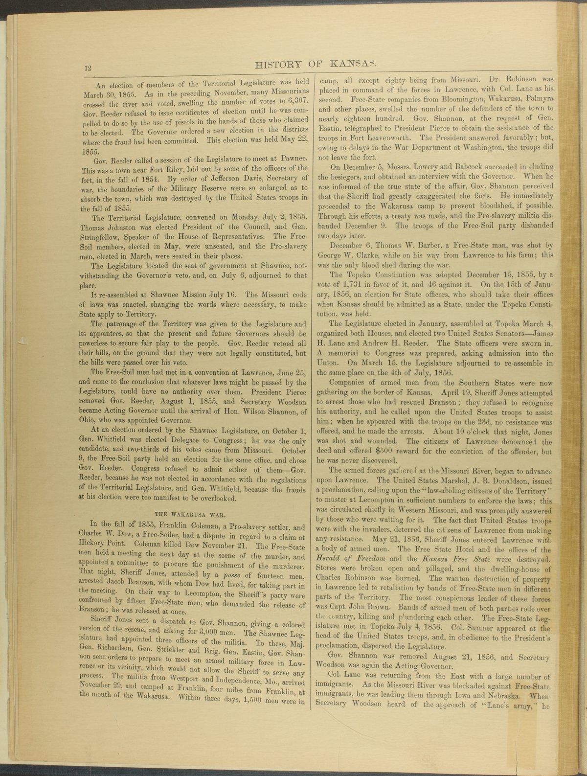 Historical plat book of Riley County, Kansas - 12