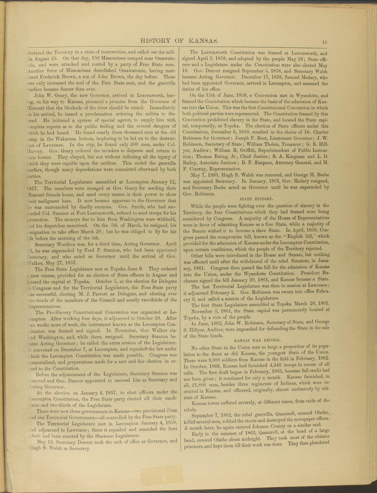 Historical plat book of Riley County, Kansas - 13