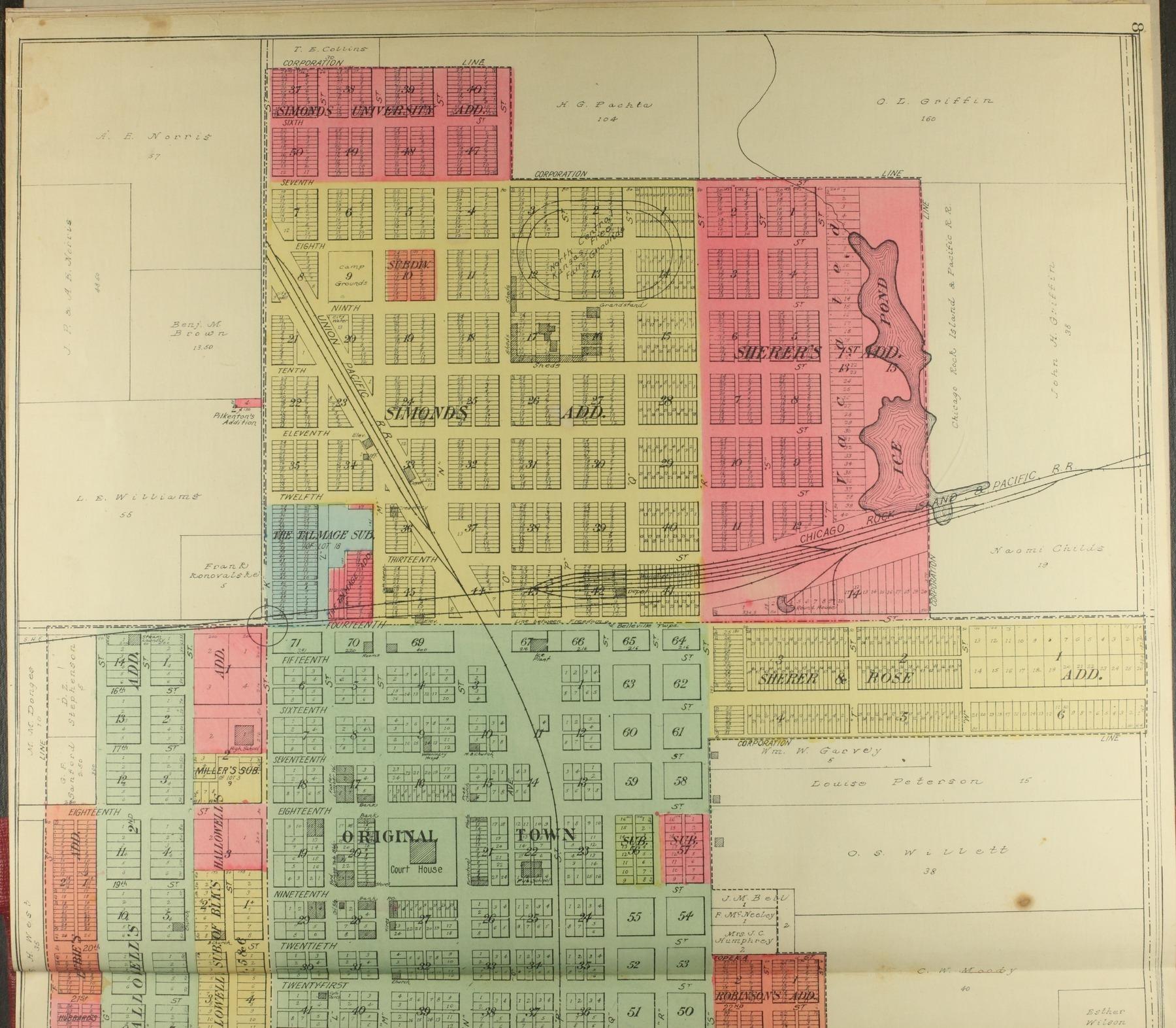 Standard atlas of Republic County, Kansas - 8