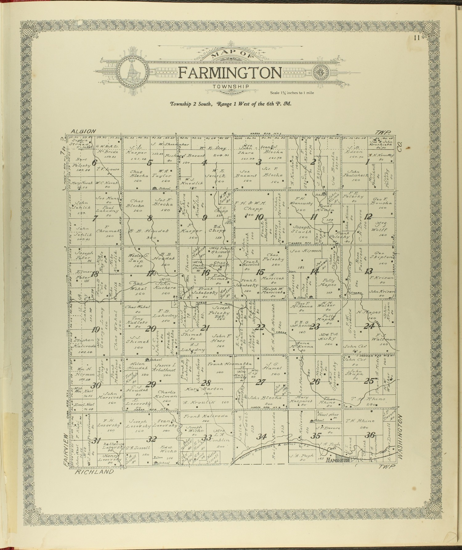 Standard atlas of Republic County, Kansas - 11