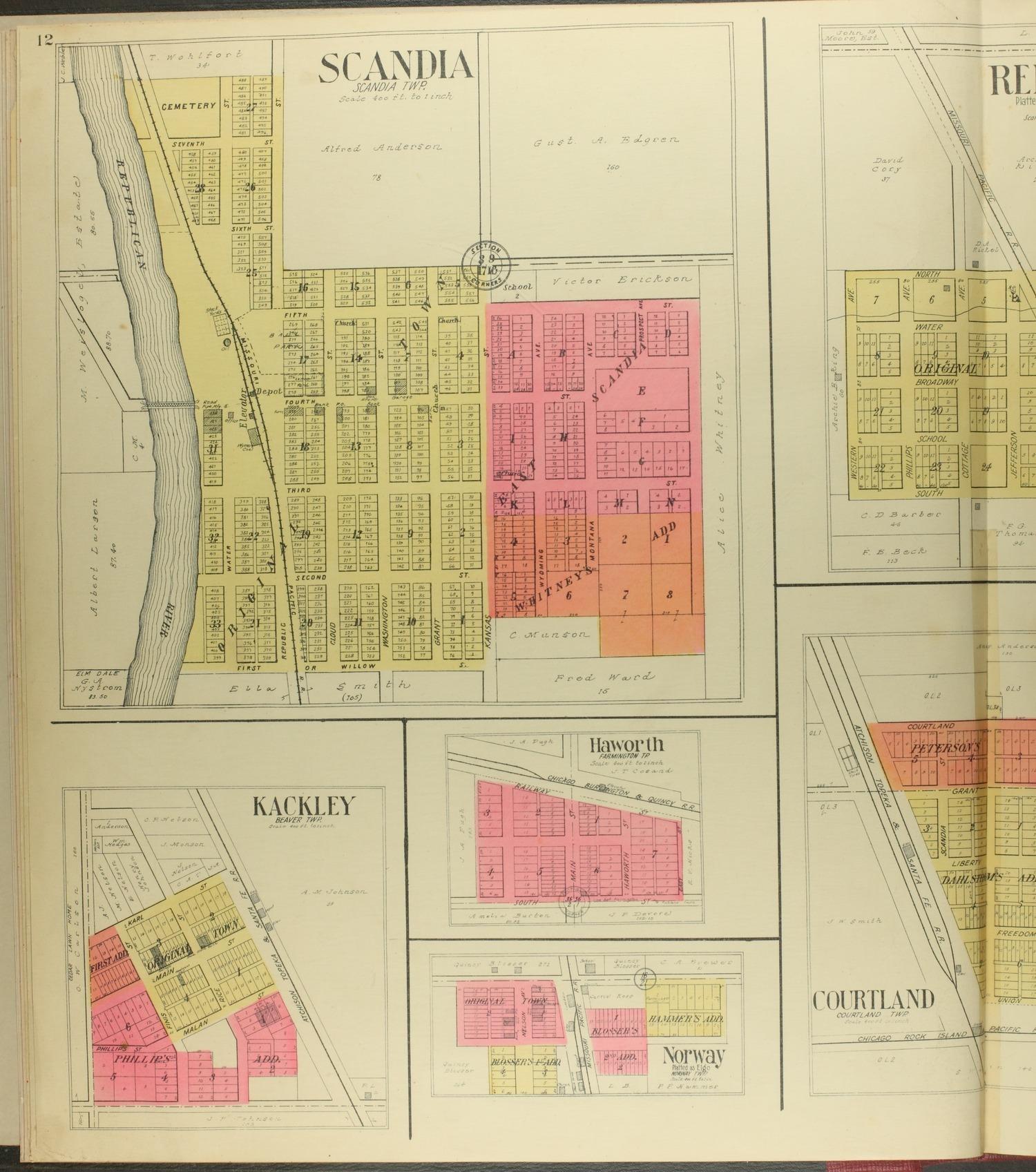 Standard atlas of Republic County, Kansas - 12