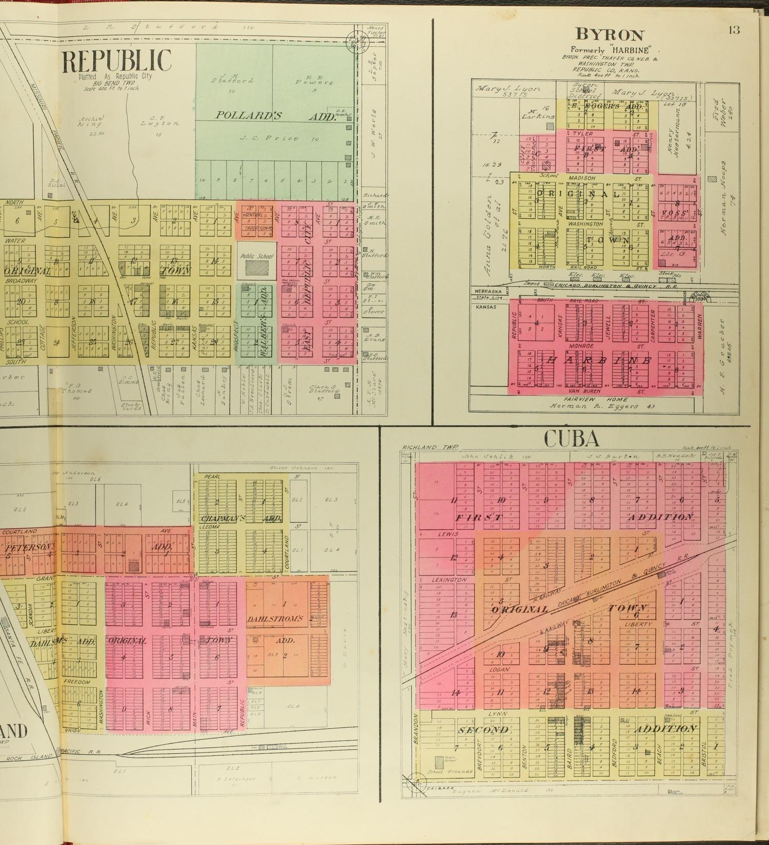 Standard atlas of Republic County, Kansas - 13