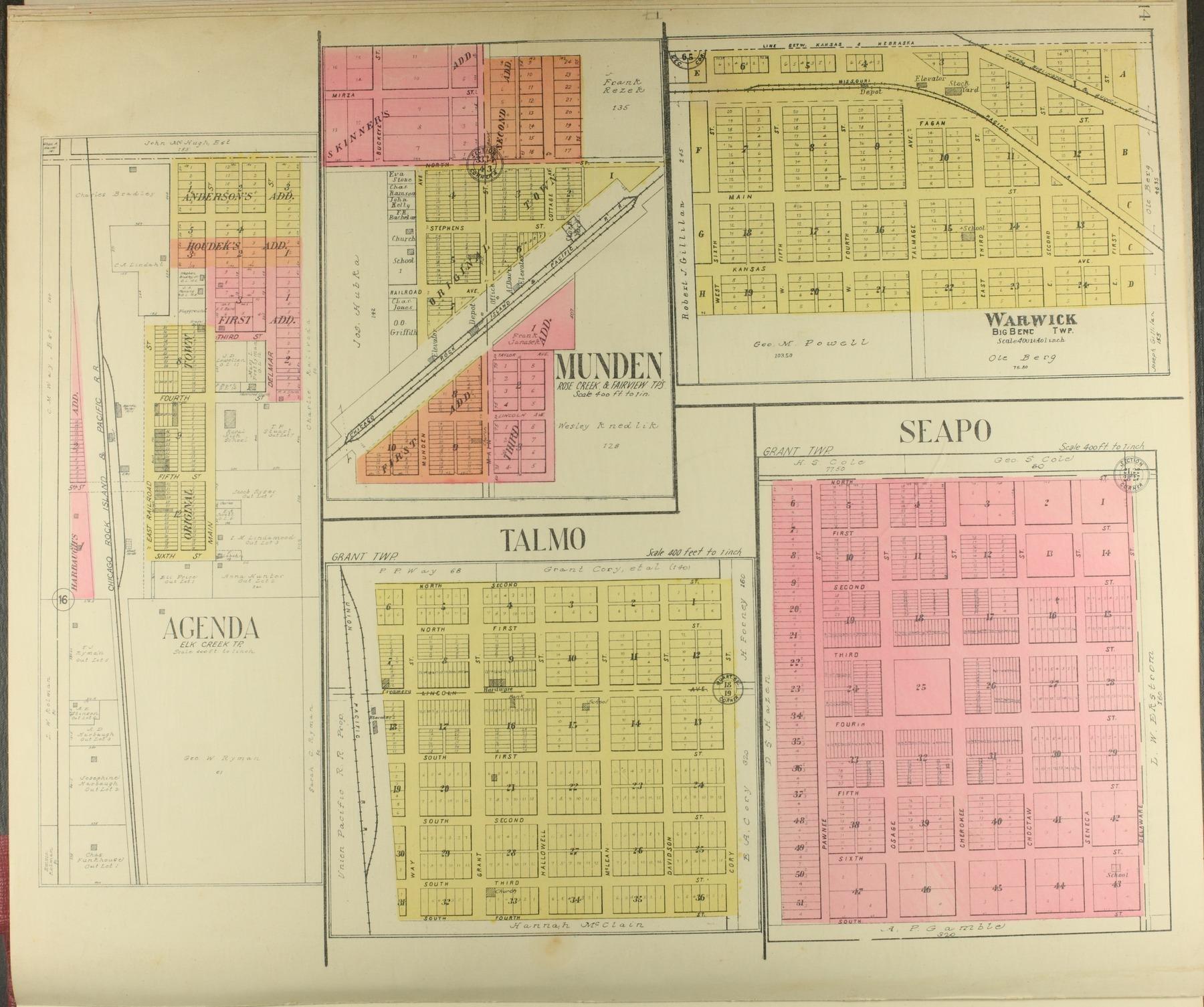 Standard atlas of Republic County, Kansas - 14