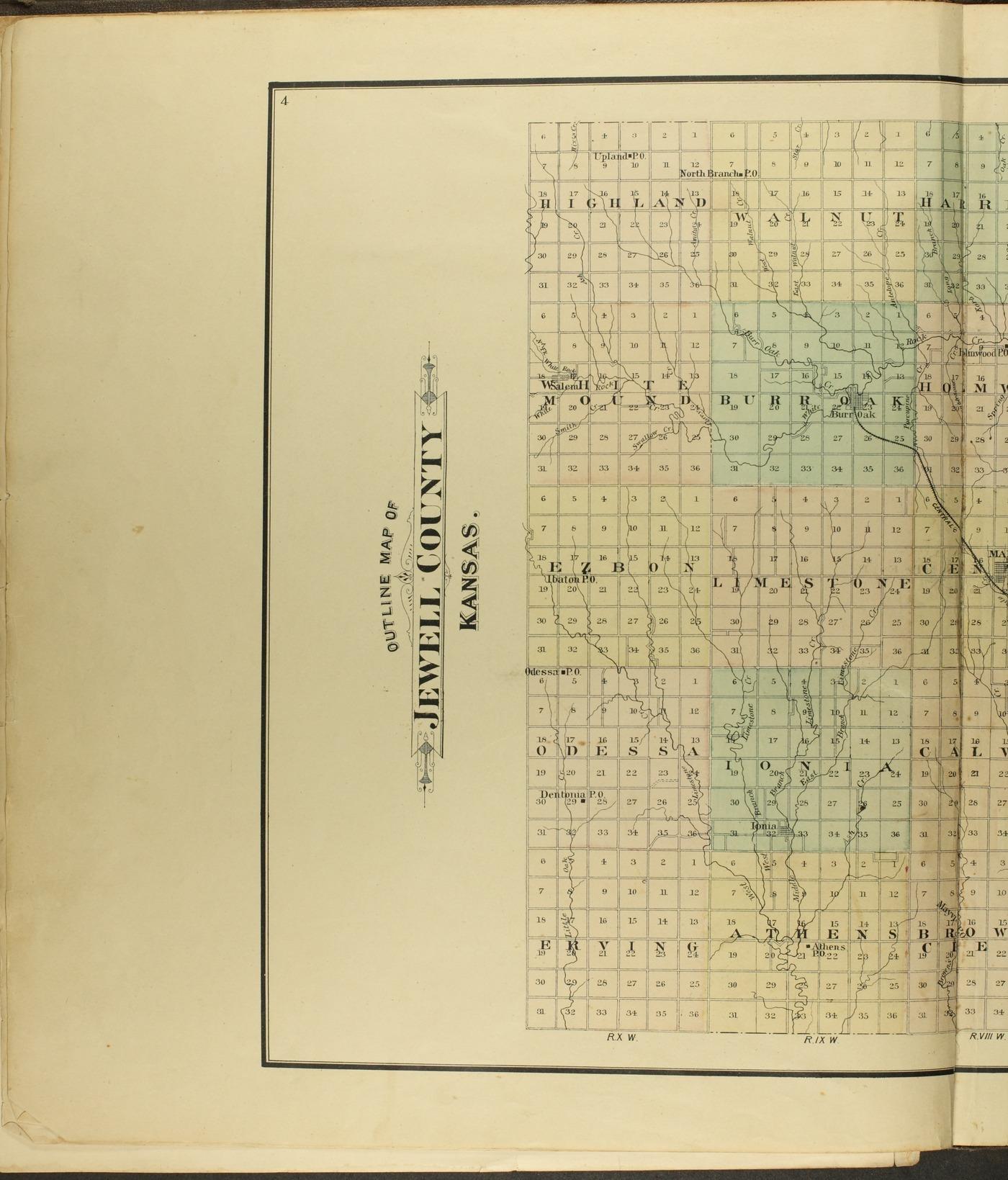 Atlas of Jewell County, Kansas - 4