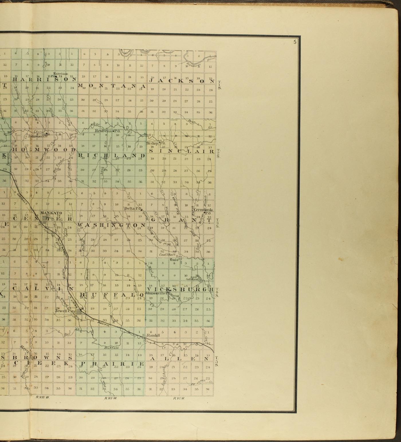 Atlas of Jewell County, Kansas - 5