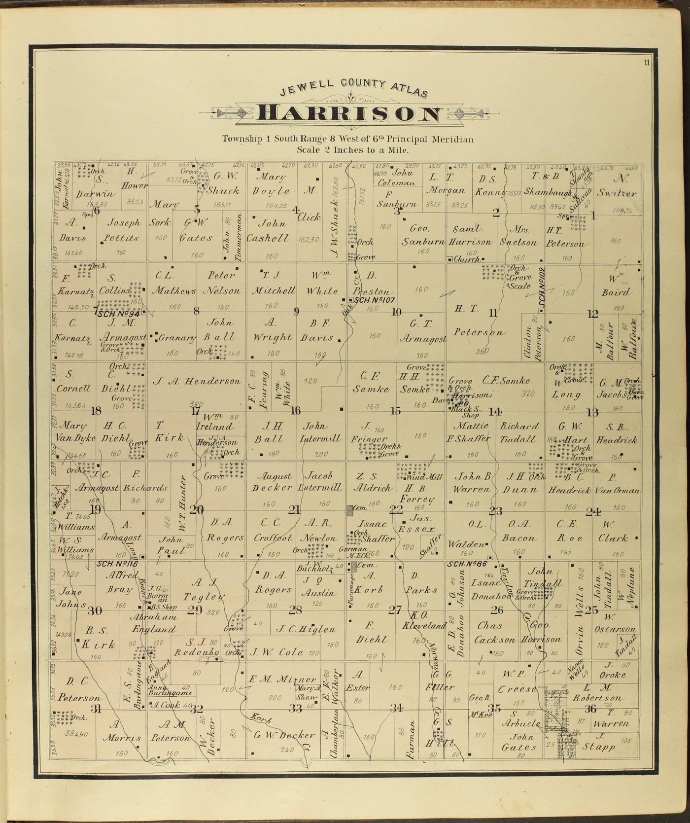 Atlas of Jewell County, Kansas - 11