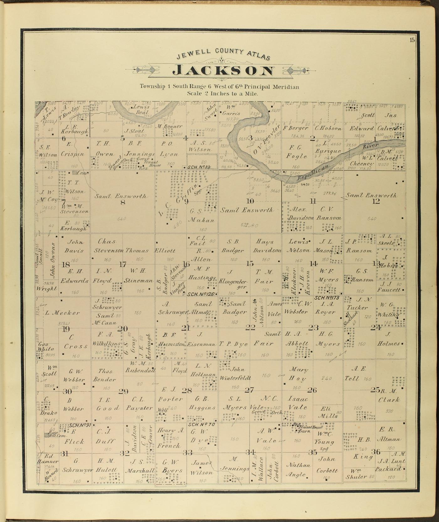 Atlas of Jewell County, Kansas - 15