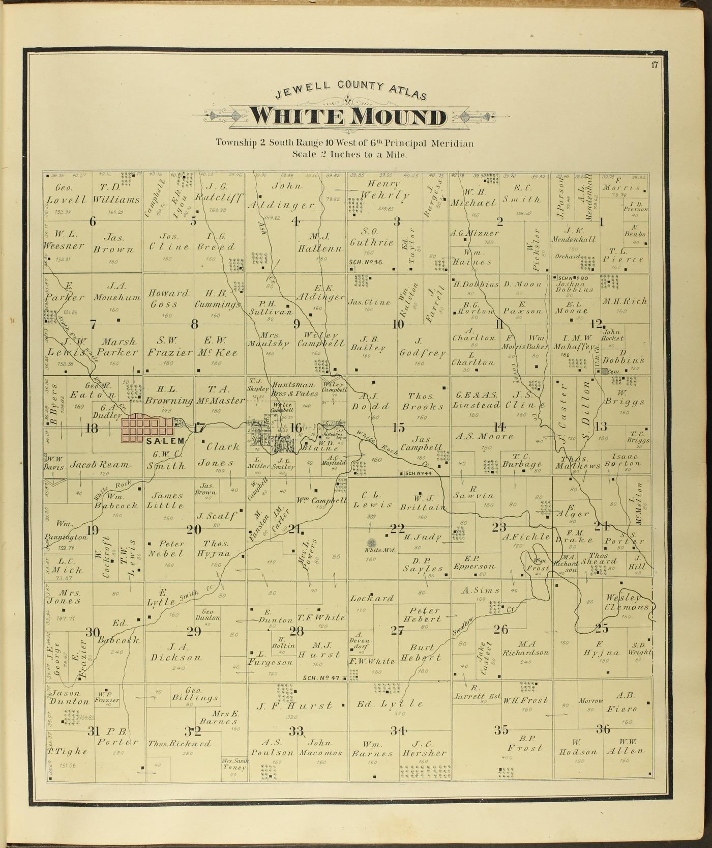 Atlas of Jewell County, Kansas - 17