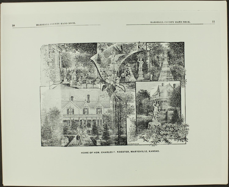 Handbook of Marshall County, Kansas - Pages 10 & 11
