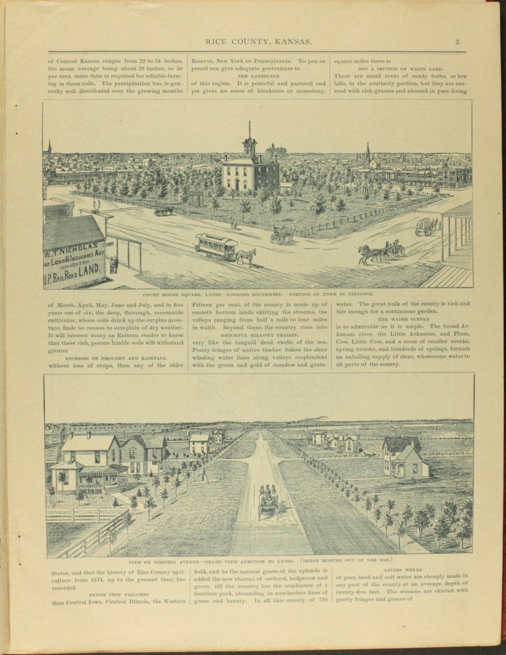 Hand-book of Rice County Kansas - 3
