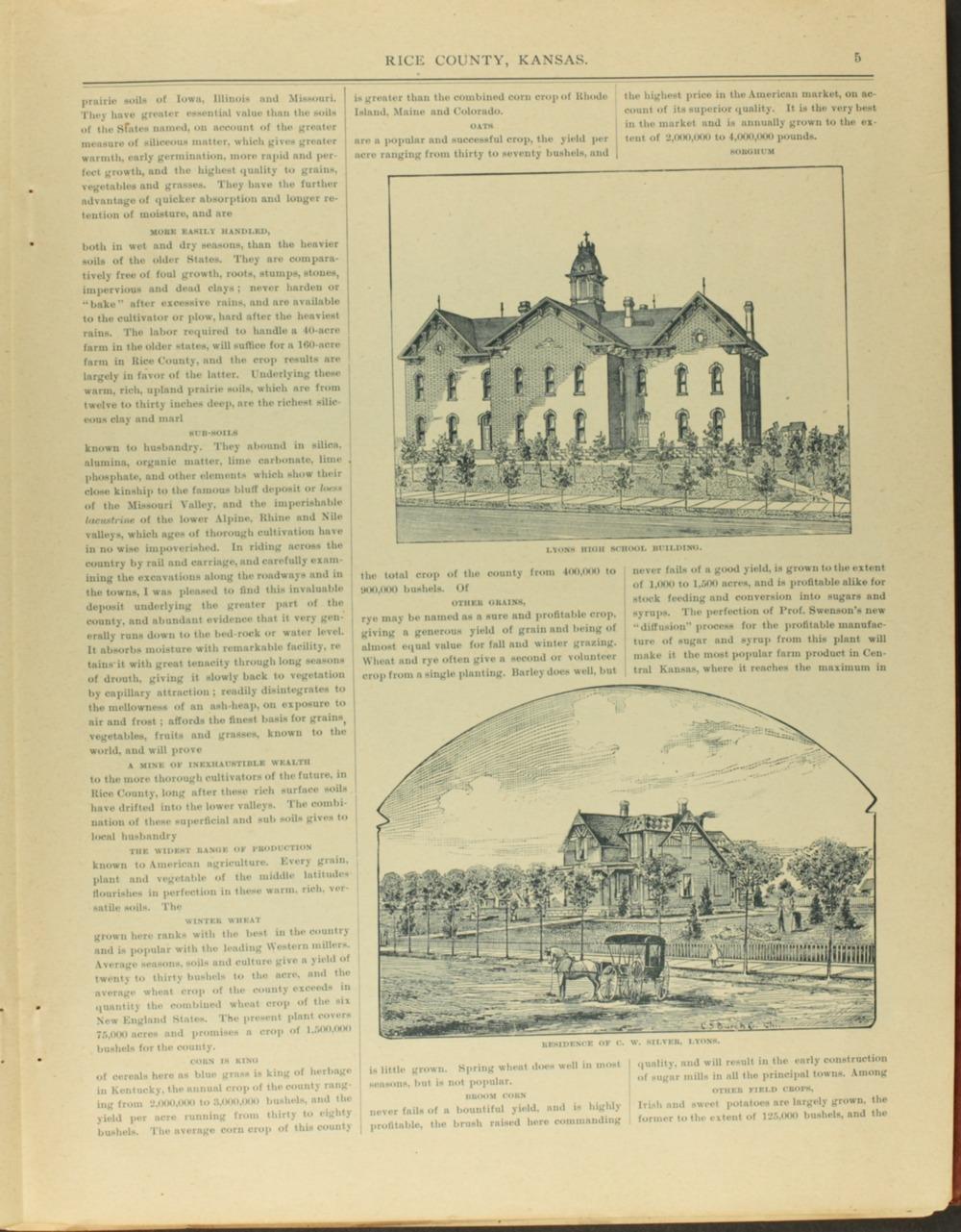 Hand-book of Rice County Kansas - 5