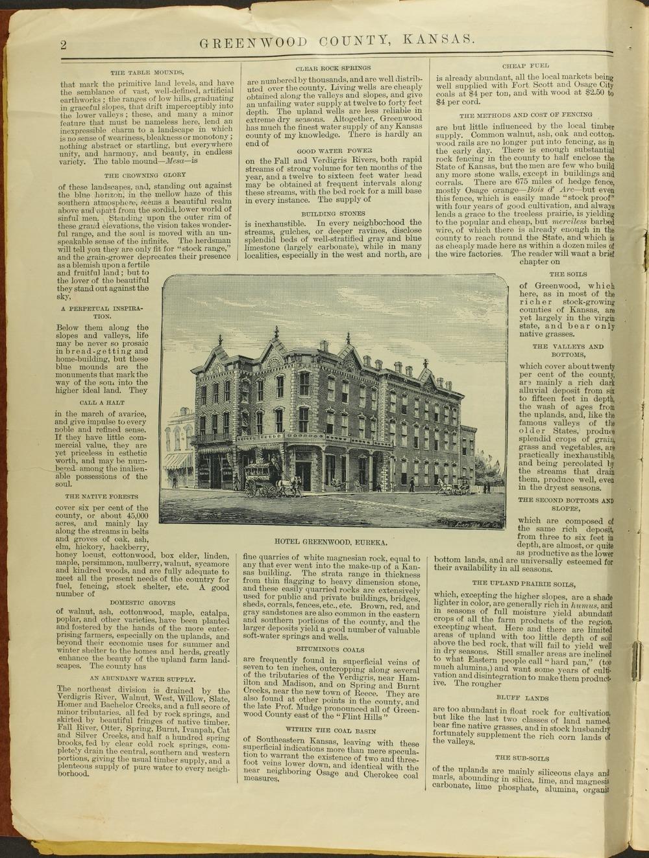 Handbook of Greenwood County, Kansas - 2