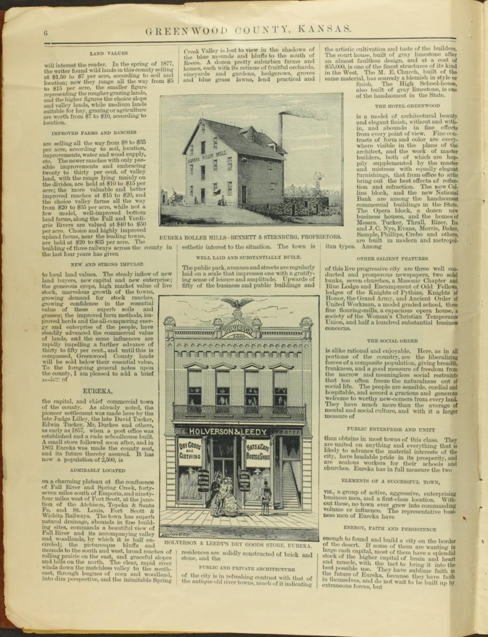Handbook of Greenwood County, Kansas - 6