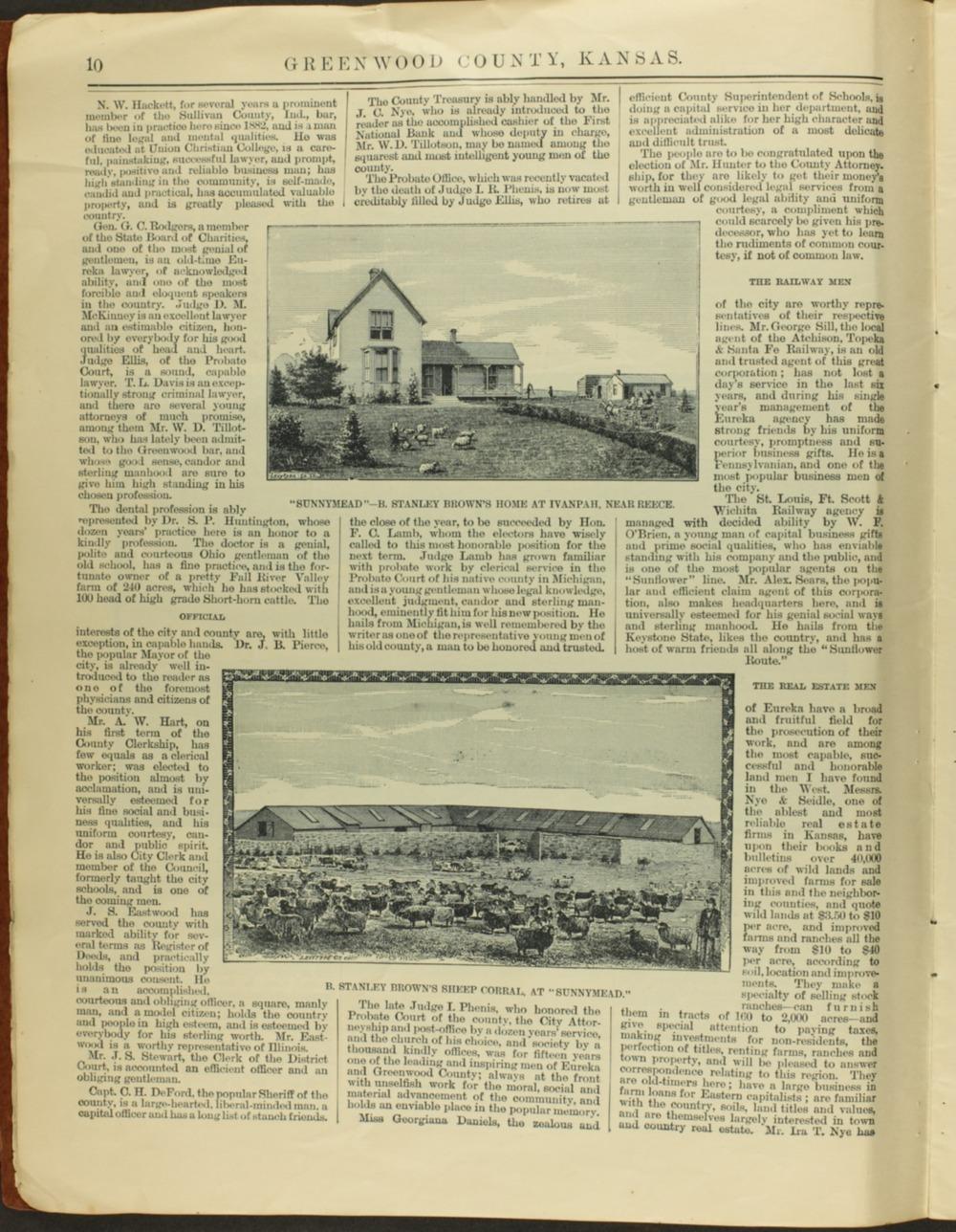 Handbook of Greenwood County, Kansas - 10
