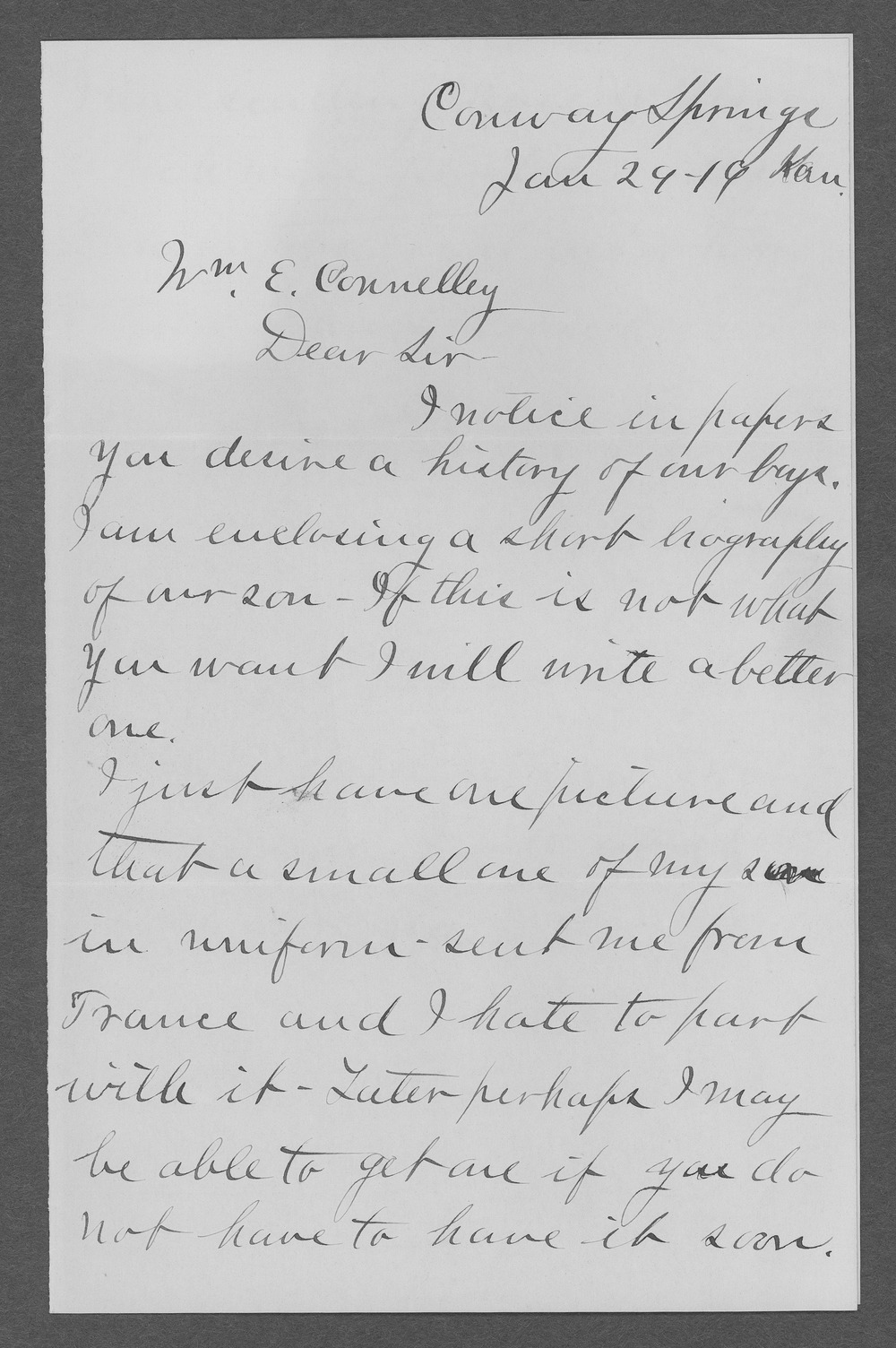 Robert C. McIlhenny, World War I soldier - 6