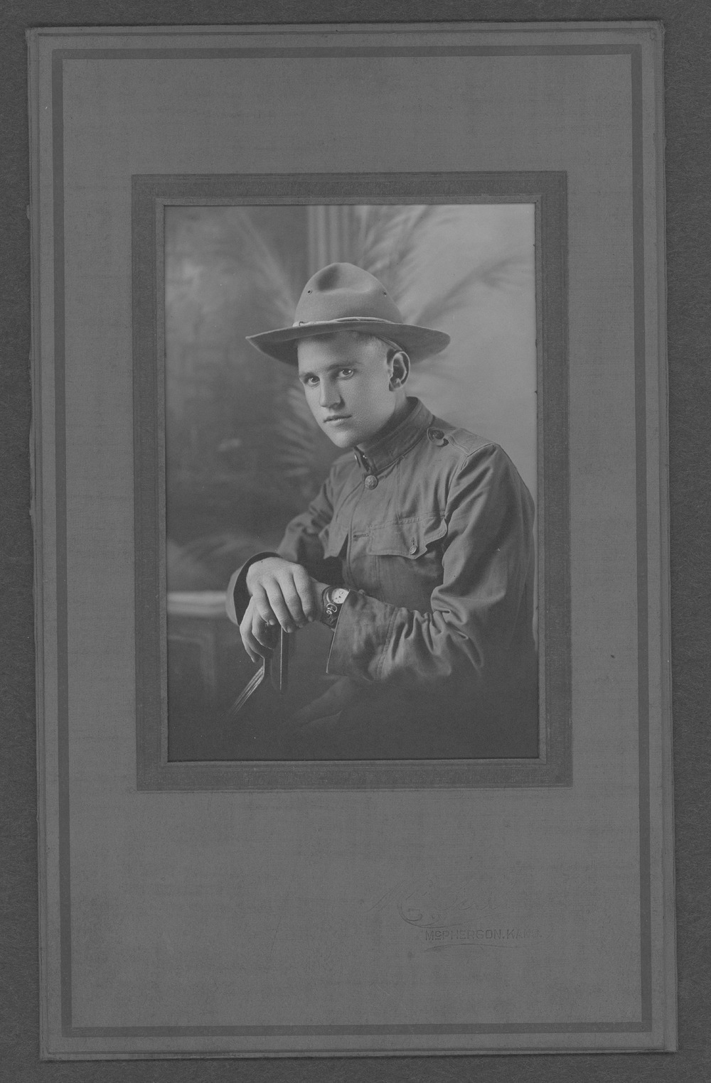 Donald Edwin McKellar (Gibson), World War I soldier - 2