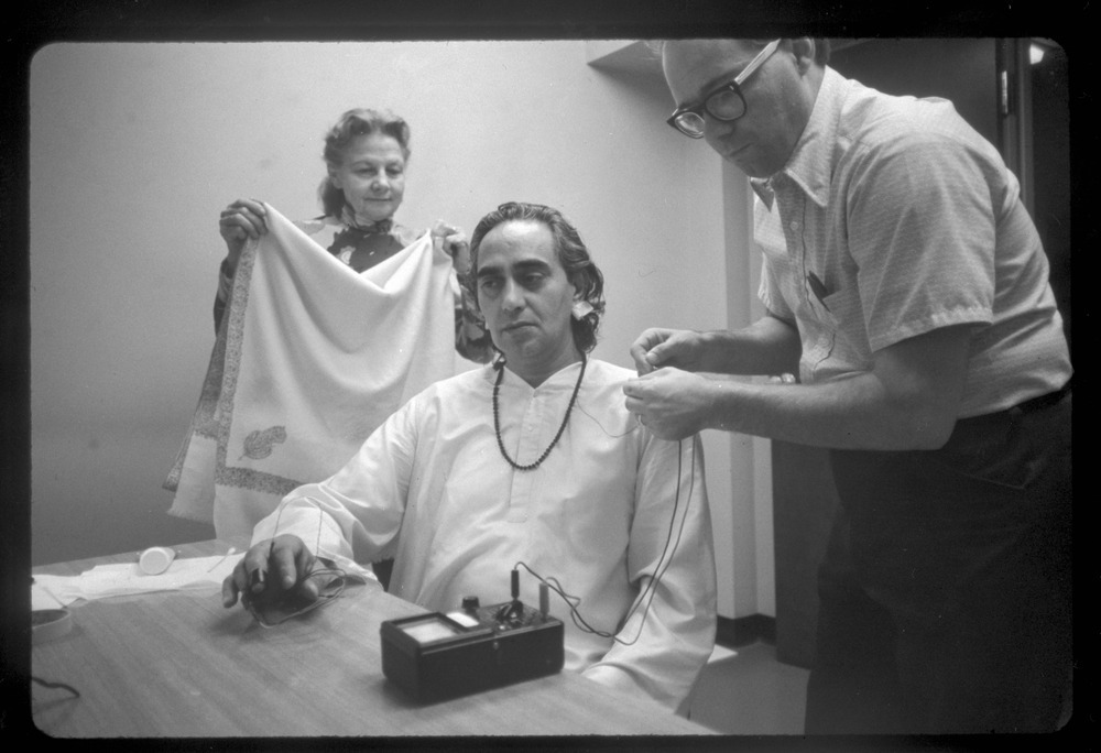 Swami Rama at the Menninger Clinic, Topeka, Kansas - Kansas Memory - Kansas Historical Society