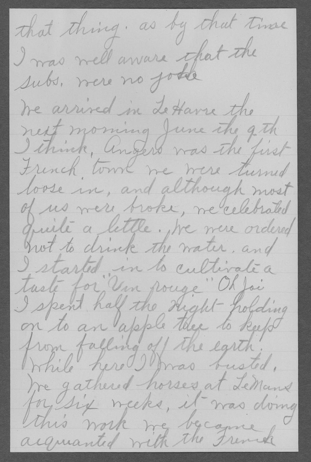 Edward A. Manning, World War I soldier - 5