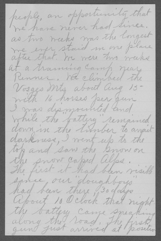 Edward A. Manning, World War I soldier - 6