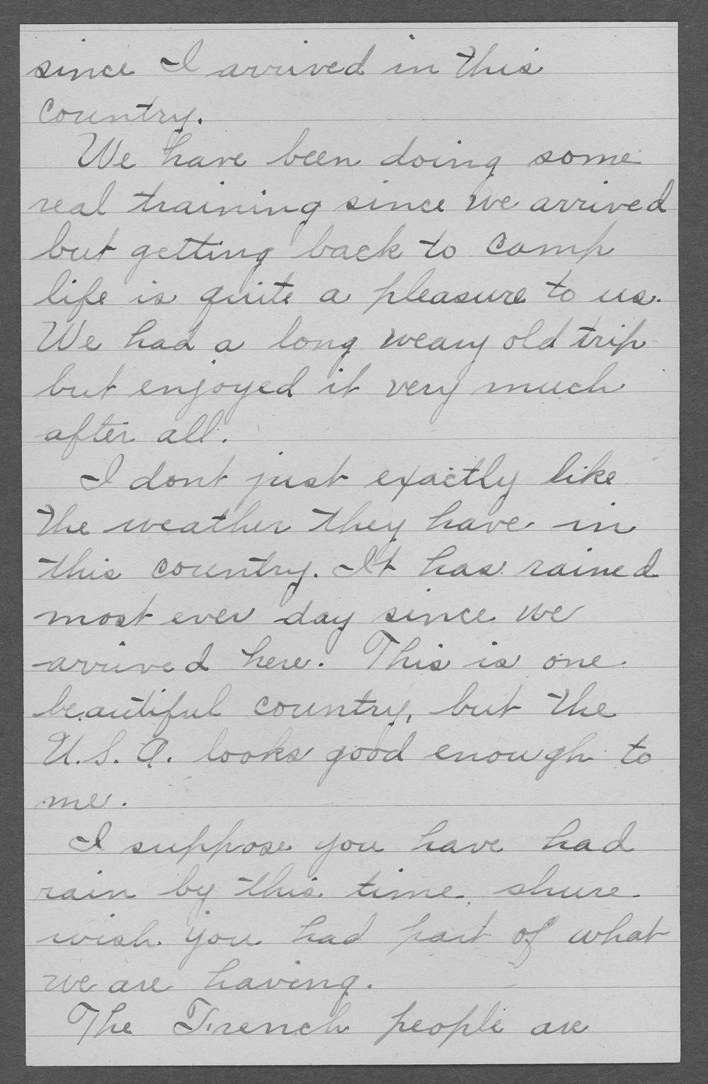 Clifford Dewey Marrs, World War I soldier - 8