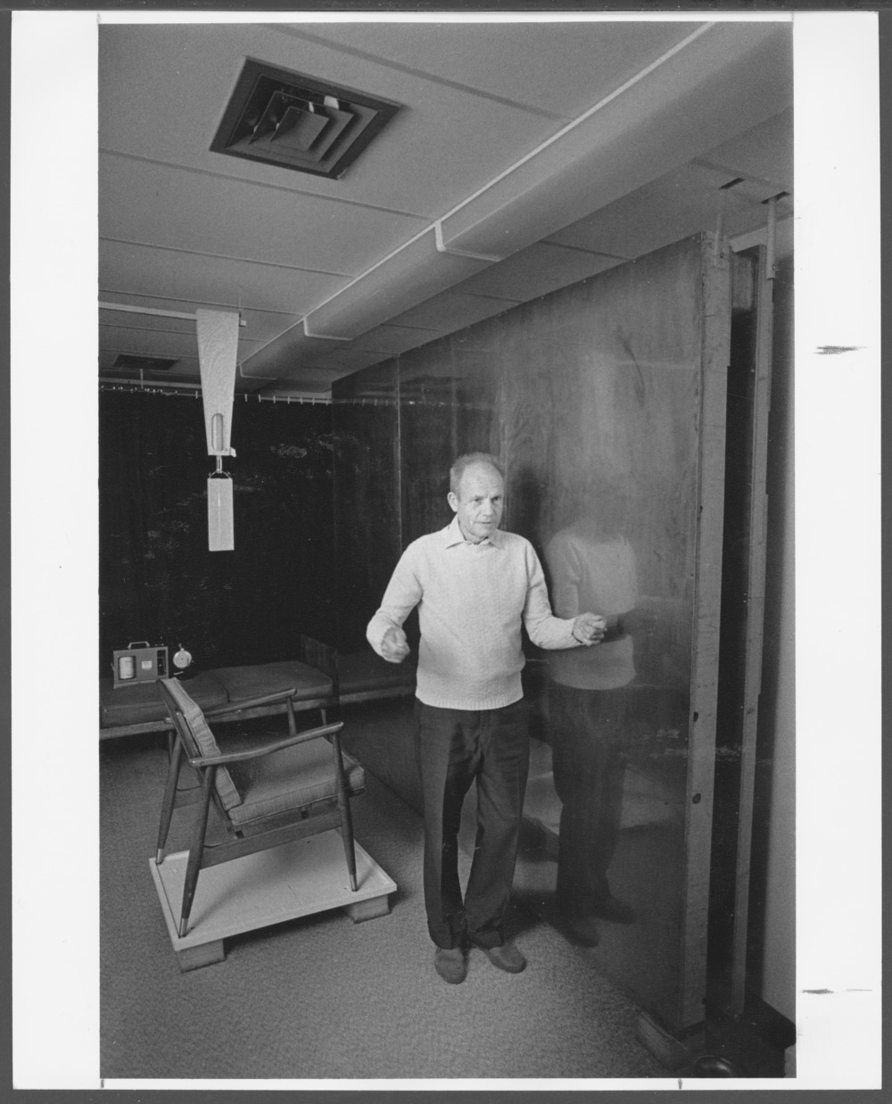Elmer Green, PhD who established the psychophysiology laboratory at the Menninger Clinic