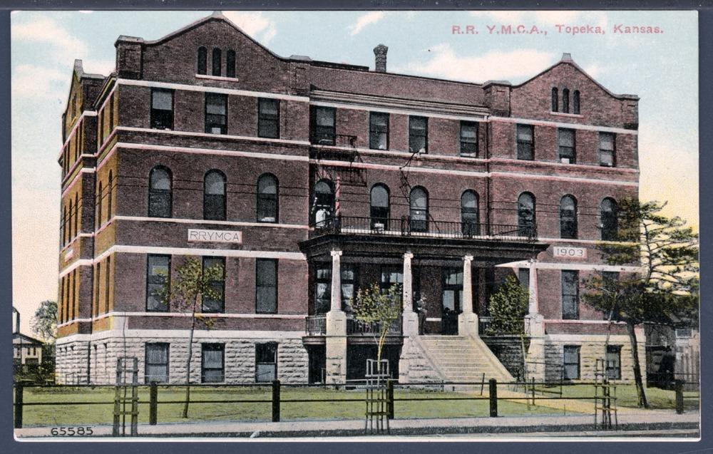 Railroad Y.M.C.A. in Topeka, Kansas - 1