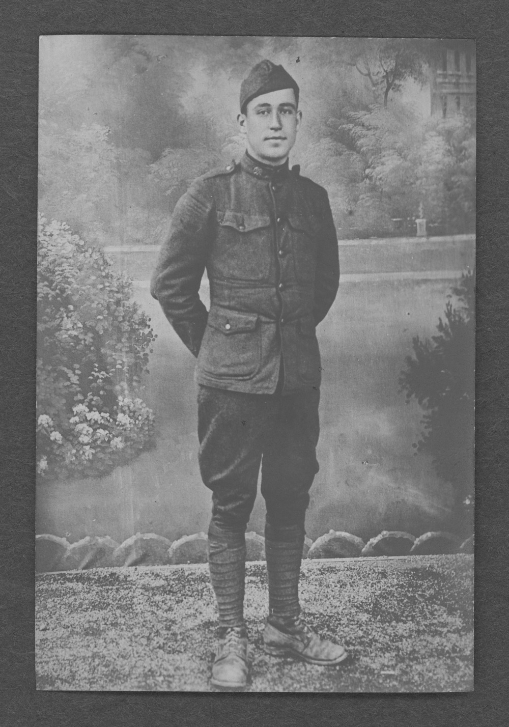 Walter McKinley Blackledge, World War I soldier - 1
