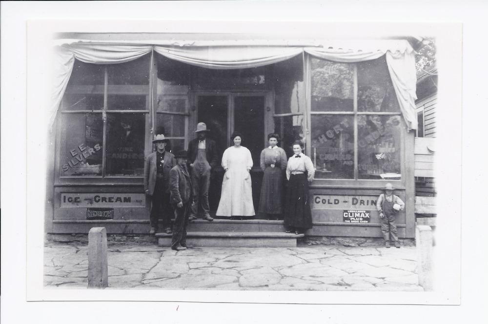 Silvers Cafe, Rossville, Kansas - 1