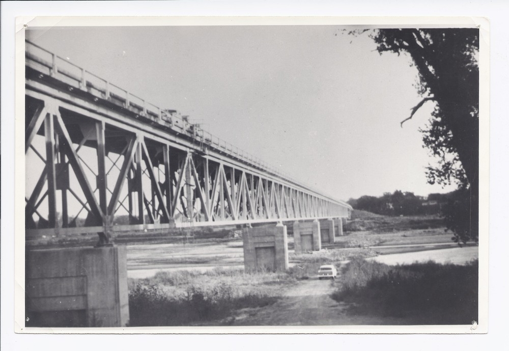 Willard bridge crossing the Kansas River, Willard, Kansas - 1